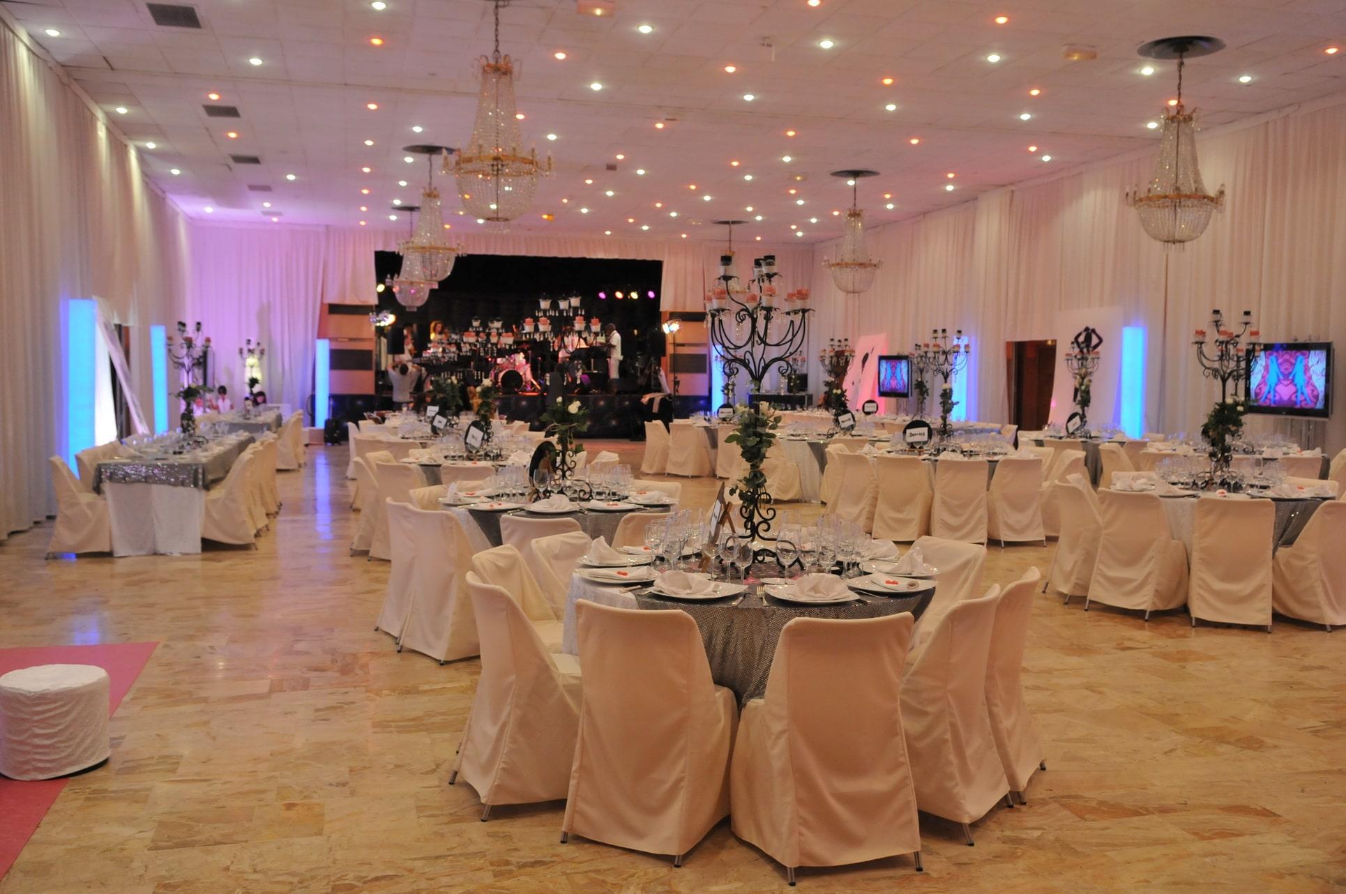 location salle pour mariage