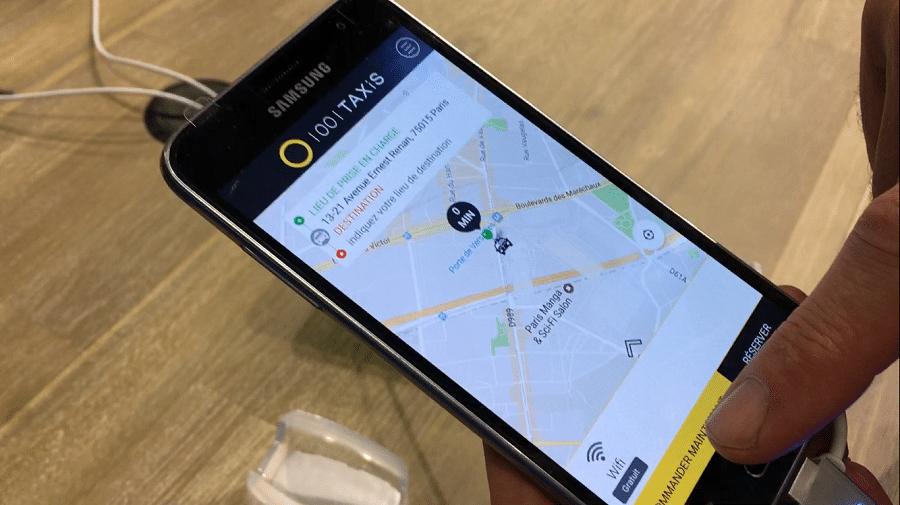1001 taxis veut se mesurer uber. Black Bedroom Furniture Sets. Home Design Ideas