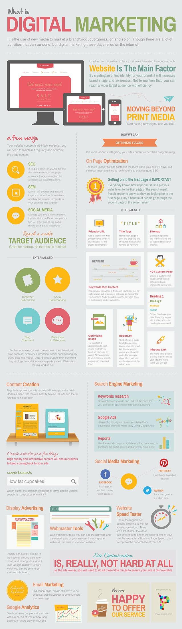 infographie   astuces pour une bonne visibilit u00e9 digitale