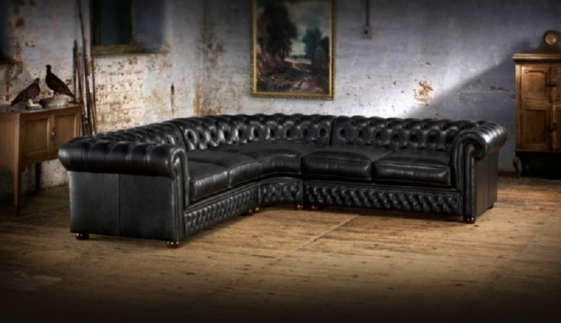 guide d achat du canap chesterfield d occasion. Black Bedroom Furniture Sets. Home Design Ideas