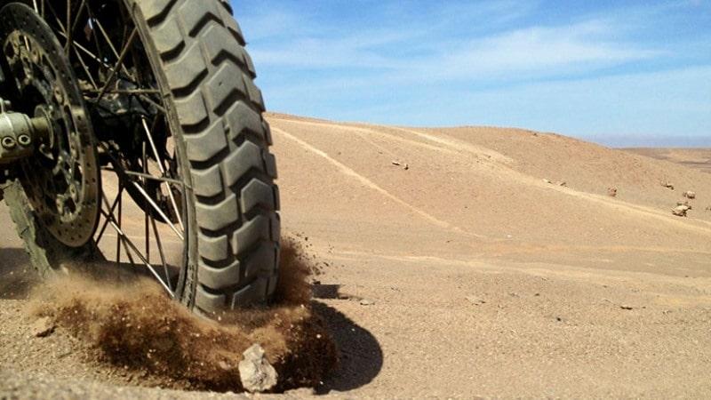 pneu d'une moto