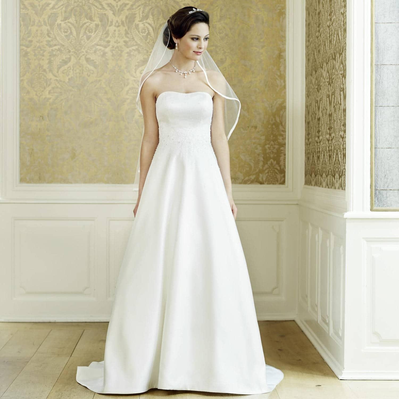Ravissante mariée dans sa robe