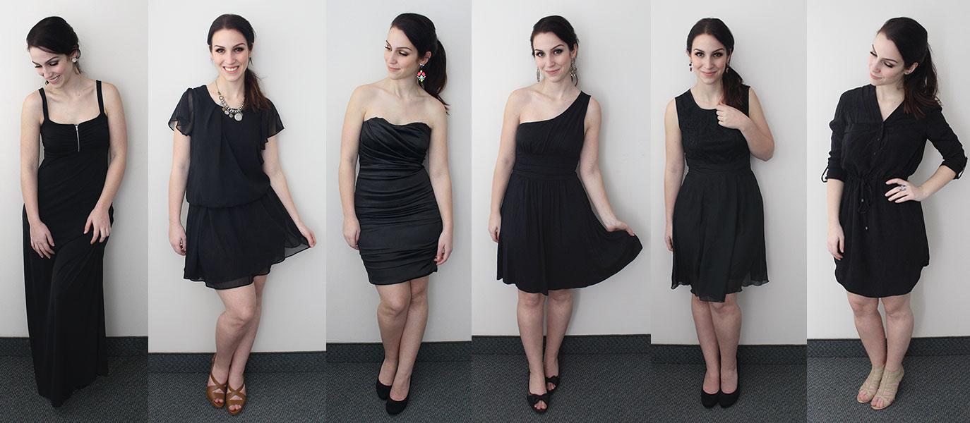 Diverses robes pour chaque morphologie